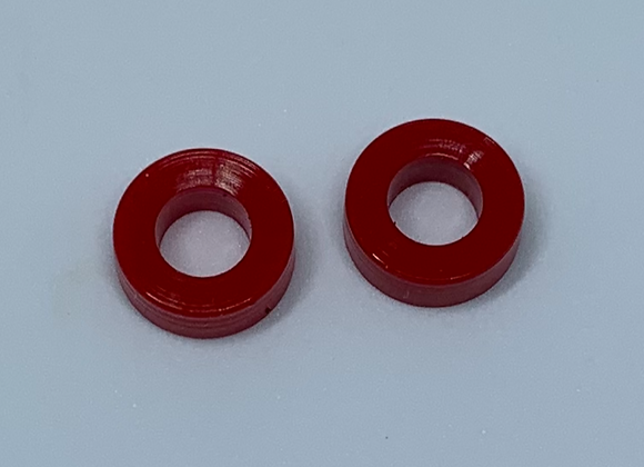 .460 Diameter Indy Rear tires Red