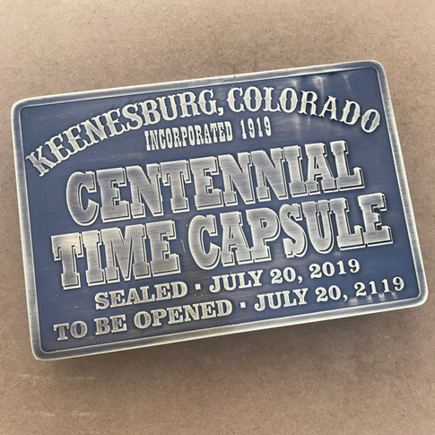 Time Capsule Plate