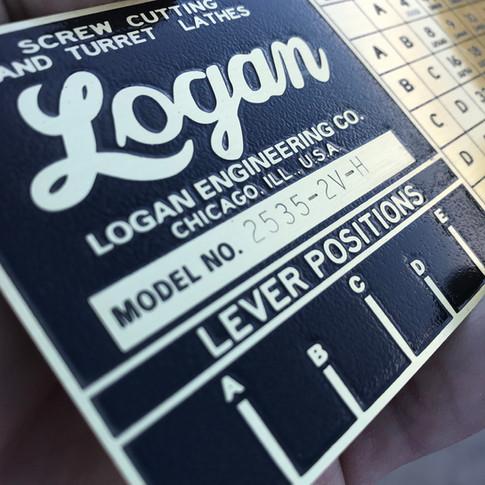Logan Gearbox Plate