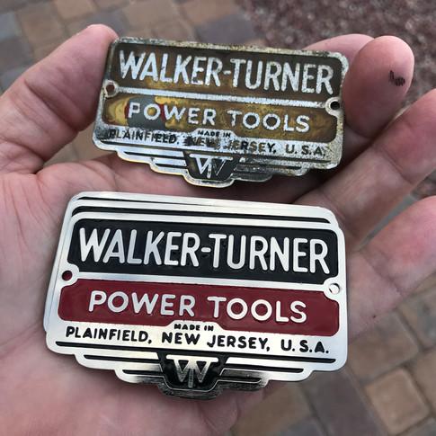Walker-Turner Bandsaw Plates