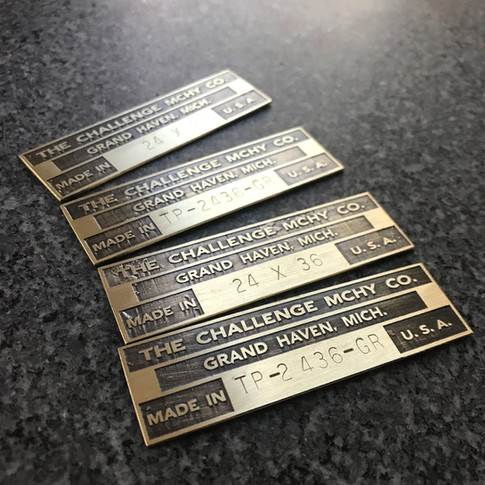 Reproduction Machine Tags