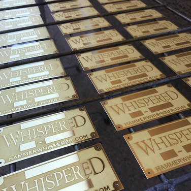 Pre-Patina Etched Tags