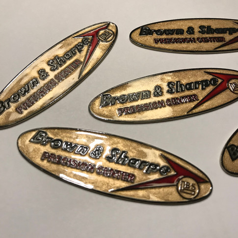 Brown & Sharpe Cylinder Square Tags