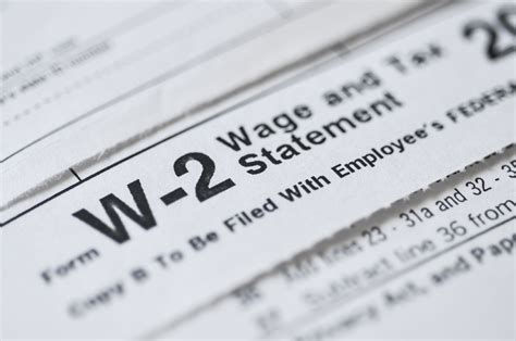 1099 and W-2 Preparation