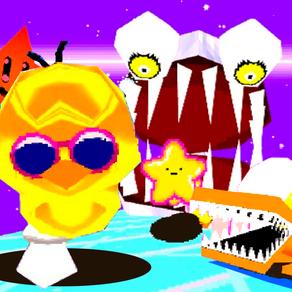 TOREE 3D JUMBLED JAM: a 3d platform game with a remixed version of Toree 3D