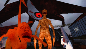 VERSTECKT: a Survival Horror PS1 style first-person game with Cosmic horror elements set in the wood