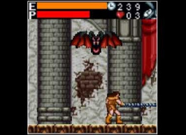 Face the Dracula on your java mobile phone with Castlevania Mobile