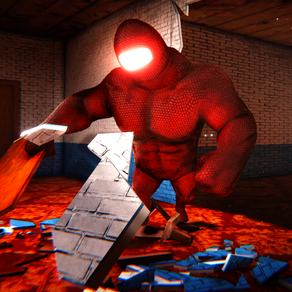 BUFF IMPOSTER HORROR: a survival horror game with a scary creature and a constantly changing maze.