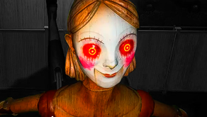 BORN INTO FEAR: a horror game set in an evacuated suburban neighborhood and macabre robots.