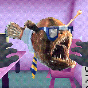 HEADLINES FROM THE DEEP: A short, PS1-style adventure game about fish-based media production