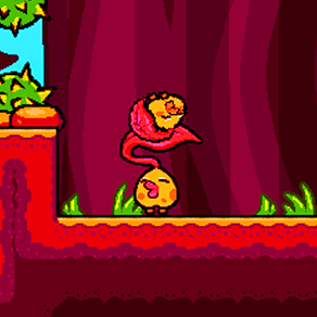 TIRED TO FALL: a puzzle-platformer game where you control a leaf that is tired to fall every Autumn!