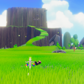 PLUSHIE FROM THE SKY: A charming SOULS-like wacky game where you Play as a little fallen angel