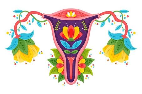 sistema-reproductor-femenino-flores_23-2