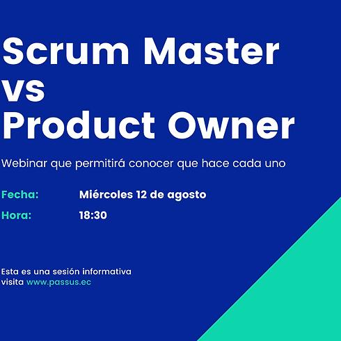 Scrum Master vs ProductOwner