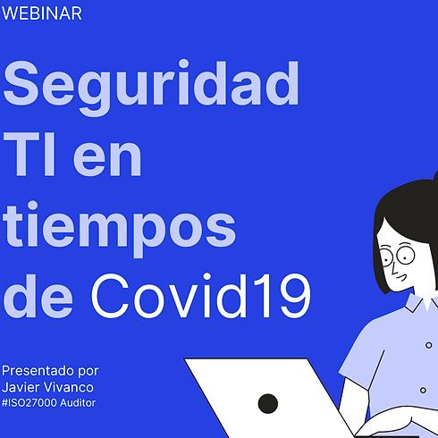Seguridad TIC con COVID19