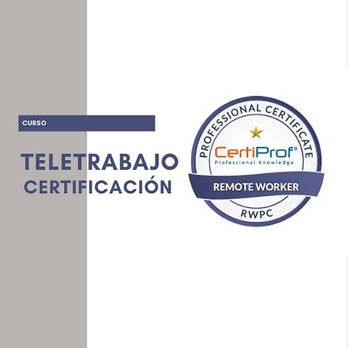 Certificación en Teletrabajo