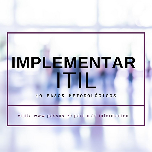 Implementando ITIL