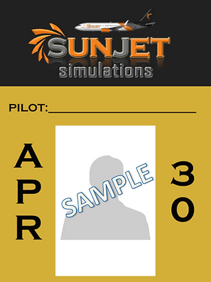 Members Badge SunJet Simulations