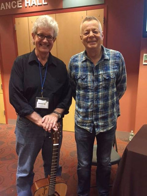 Joining Tommy Emmanuel for a Guitars for Vets benefit show.