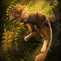 honey_locust_afternoon_by_skidar-dc3q5r8