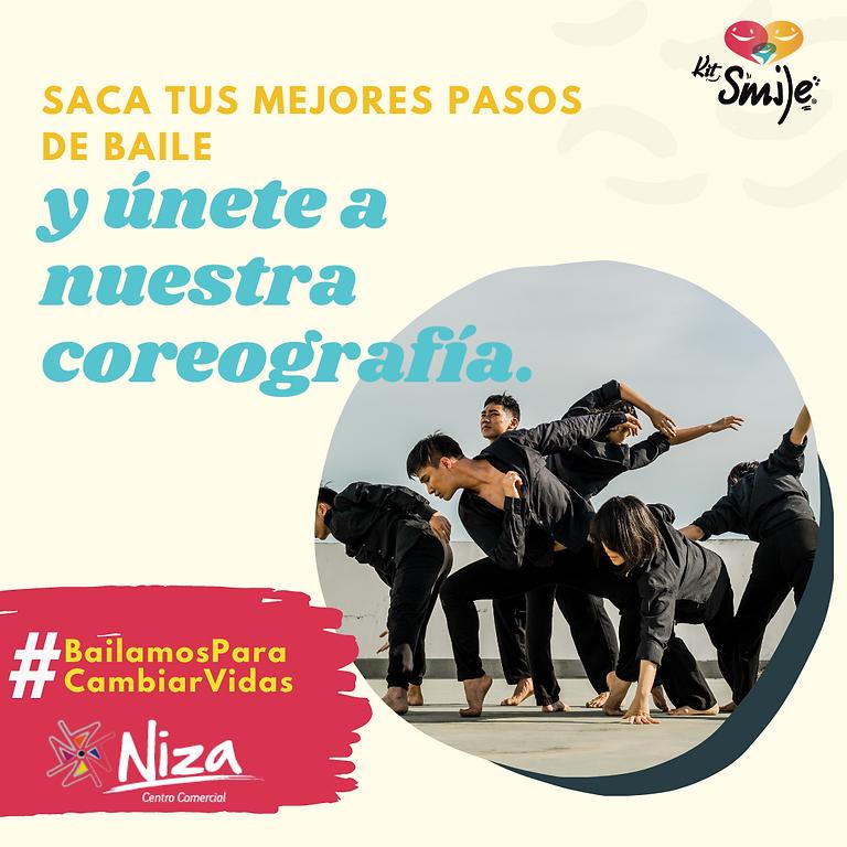 #BailamosParaCambiarVidas Challenge por la inclusión