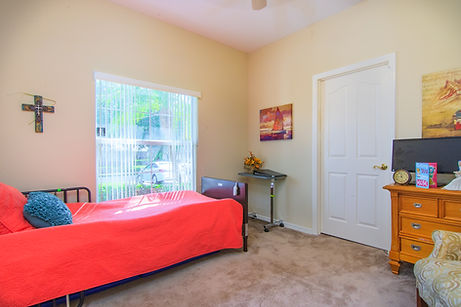 Sarasota Memory Care resident private room