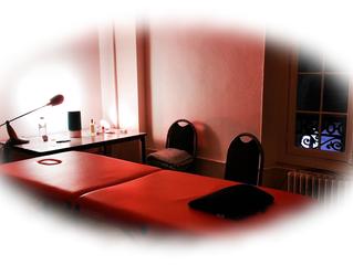 Espaces de séances, lors de nos interventions chez nos clients