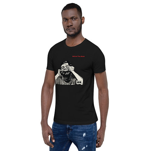 Short-Sleeve Behind the Mask Unisex T-Shirt