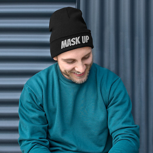 Mask Up Beanie