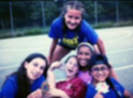 Happy camper group