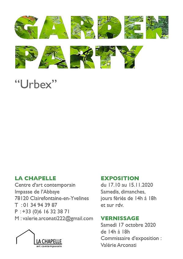 15 jpeg GARDEN PARTY URBEX flyer A6 rect