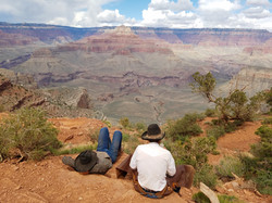 mule wranglers. grand canyon
