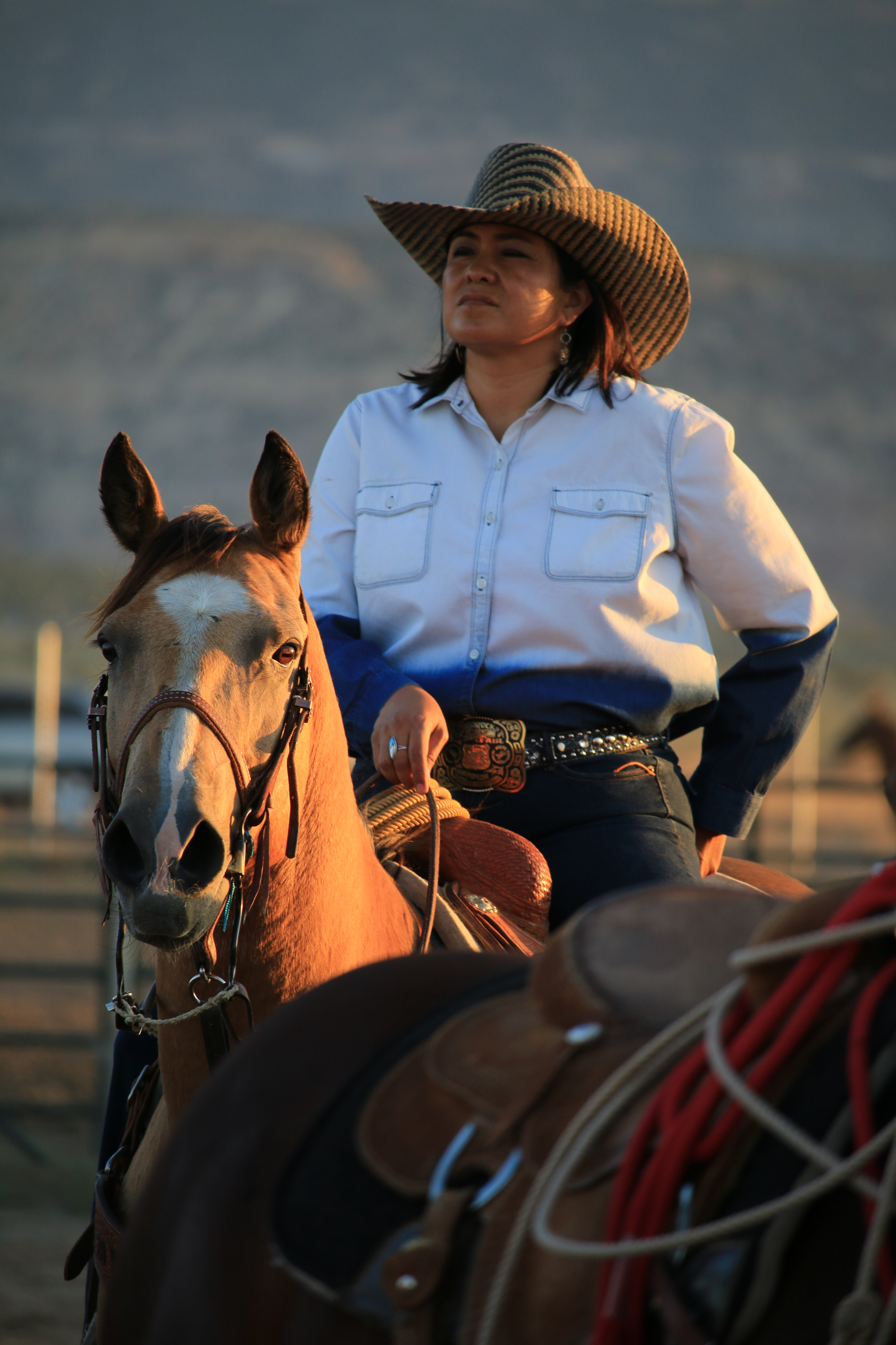 navajo cowgirl