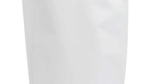 Sachet stand-up en aluminium Blanc 130X225