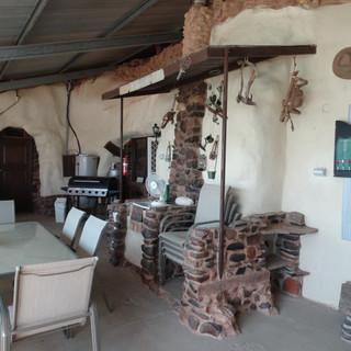 Di's Place verandah