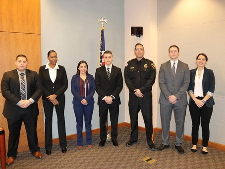 Atlantic County Sheriff Hires Six New Officers