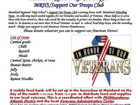 Mainland Regional High School Gym MRHS/Support Our Troops Club   Mainland Regional  High School''s