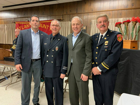 Wednesday January 15 - Atlantic County Firefighters Association  96 Annual  Reorganization and Memor