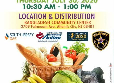 """Community Care Initiative"" Food Distribution"