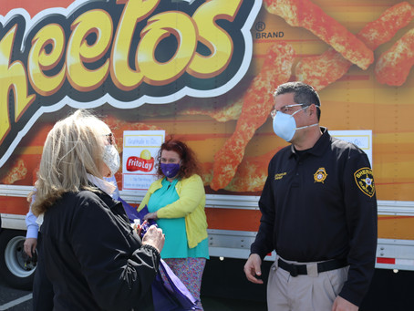 Frito-Lay's Thank You To First Responders.