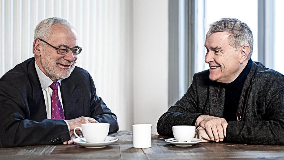Erhard Busek & Anton Pelinka