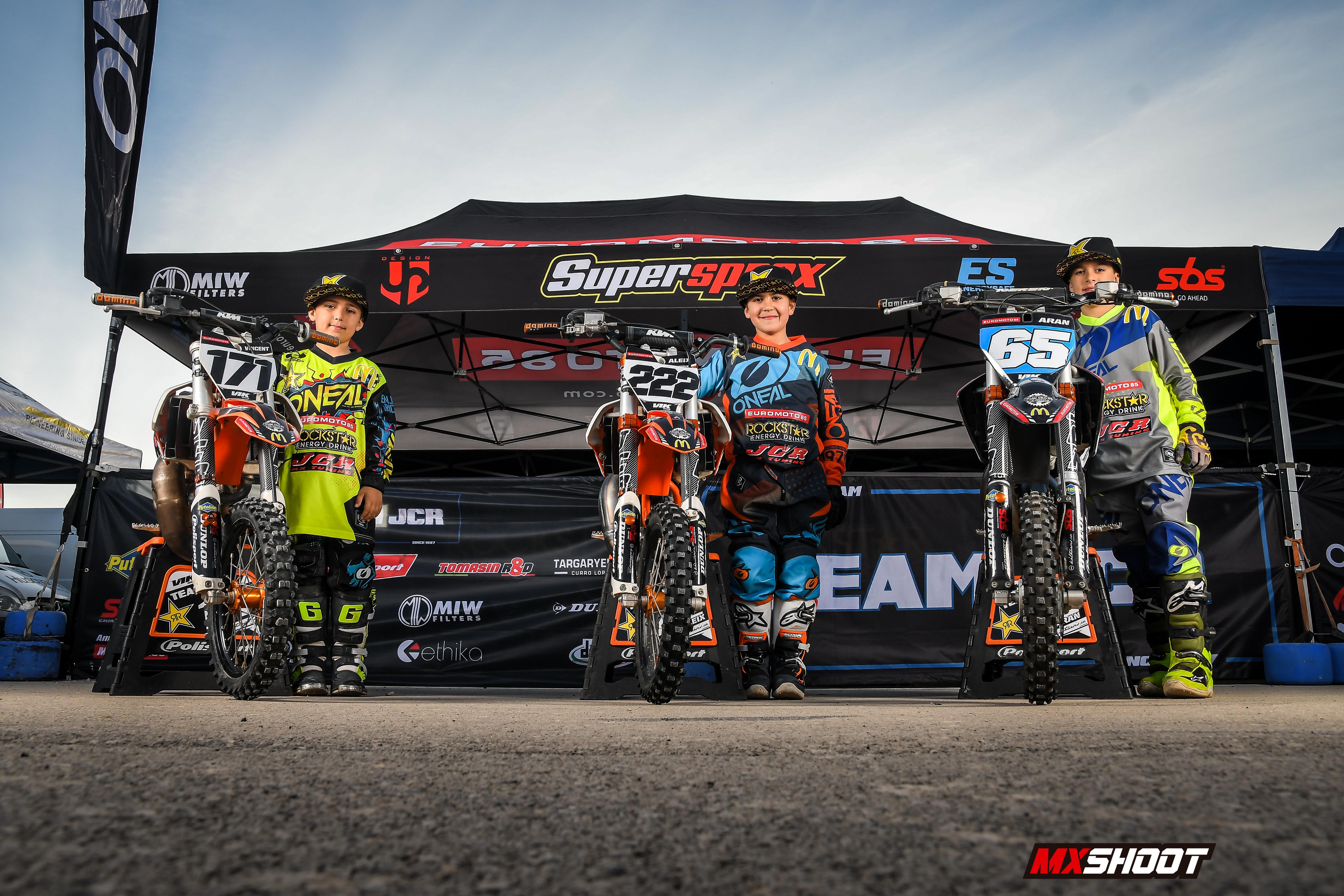 Pilotos Team JCR 2020 (KTM)