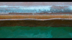 ORANGE WATERLINE #waterline #boat #barca #bateau #water #eau #acqua #marina #yacht #yachtclub #sail