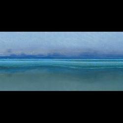SOFT BLUE WATERLINE #boat #boats #barca #bateau #water #eau #acqua #waterline #blue #bleu #blu #mari
