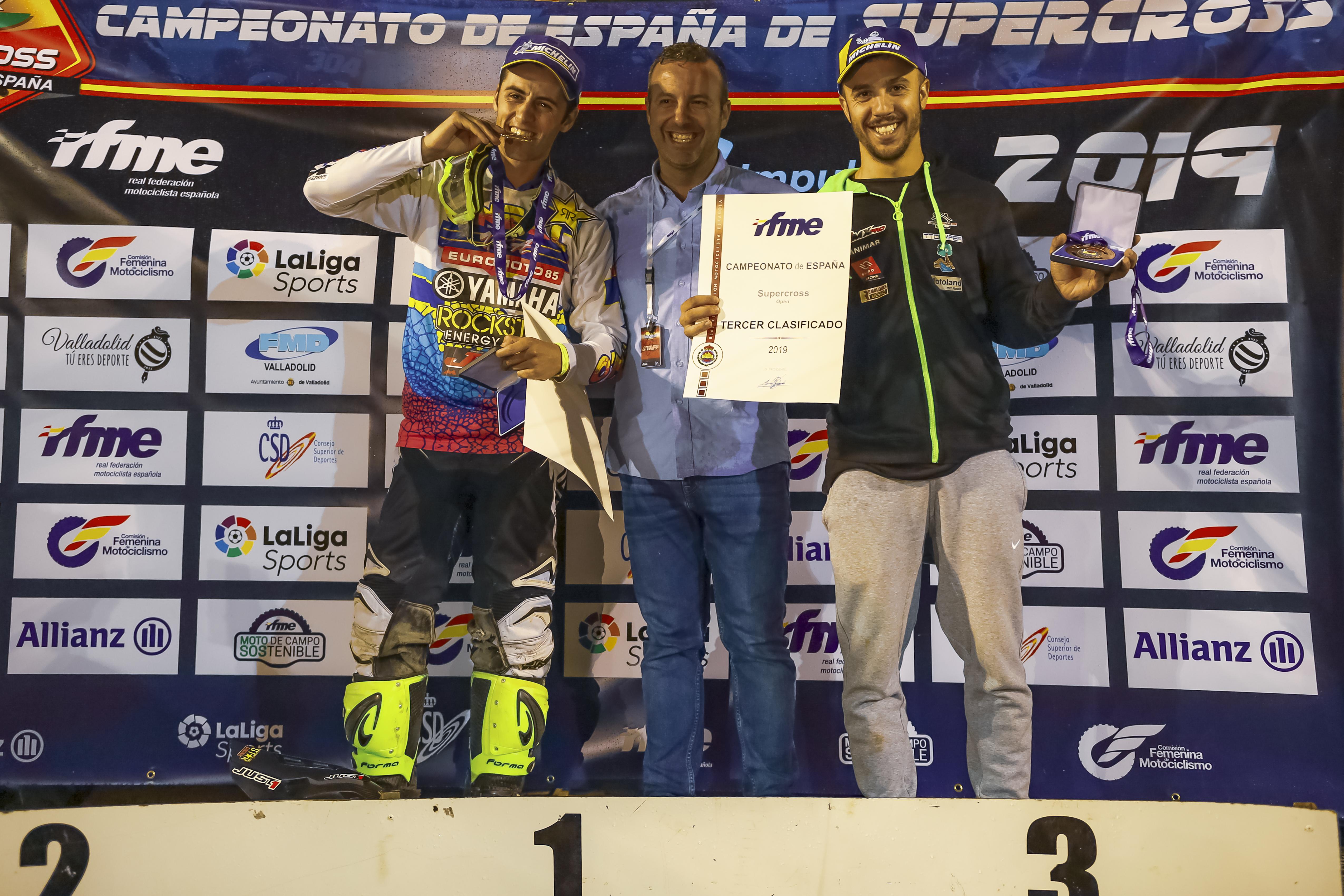 Campeón de España SX 2019