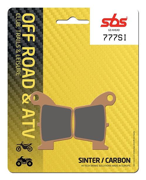 Pastilla de freno trasero SBS (Honda)