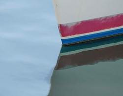 BOW at REST #realism #notabstract #reflection #reflections #water #eau #glass #acqua #marina #yacht