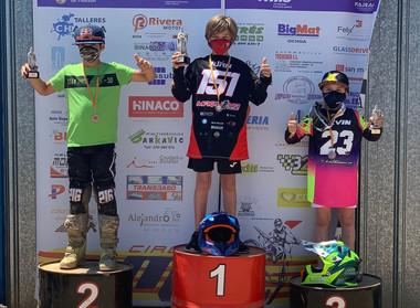 Kevin Colomé tercero en el MX de Monzón