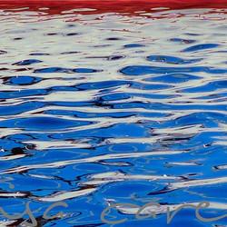 #americanbeauty #americanflag #floatingamerica #marinaart #boatinglife ##july4th #4thofjuly #blockis