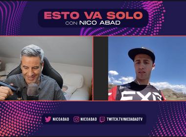 Nico Abad habla con Joan Cros del AMA SX